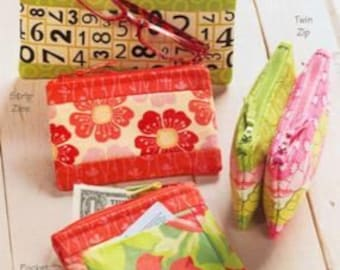 Atkinson Designs - Cash and Carry - Paper Sewing Pattern for Coin Purses