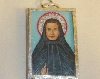 St Frances Xavier Cabrini Pendant inv1680