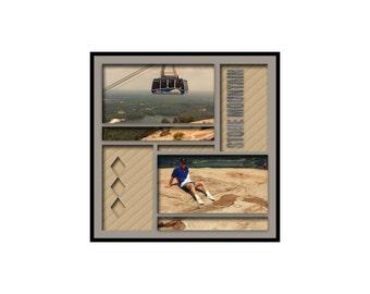 12 x 12 Digital Scrapbook Template (61)