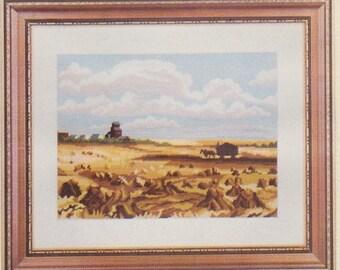 Helen Burgess Counted Thread Design. A Prairie Harvest Pattern. HB4021.