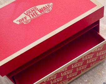 "Giant VANS ""Off the Wall"" Shoe Box"