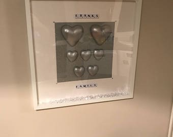 personalised scrabble gift frame