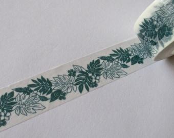 "CLEARANCE Hawaiian Style Washi Tape Exclusive Print ""NATIVE"" 15mm x 10 meters"