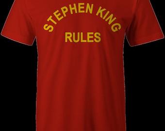 Stephen King Rules Shirt : Monster Squad