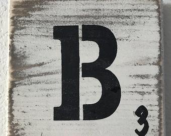 Scrabble Letter