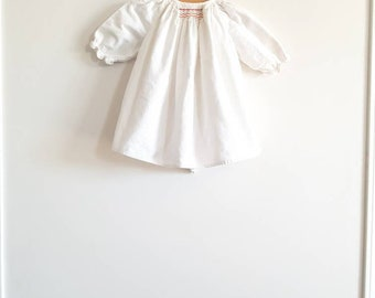 Vintage White Flannel Nightgown