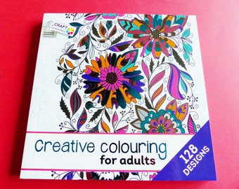 128 coloring book for adults flowers nature Butterfly arabesque animal mandala coloring book coloring
