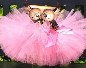 Pink Tutu, Baby Tutu, Toddler Tutu, Infant Tutu, Newborn Tutu, 1st Birthday Tutu, Birthday Tutu, First Birthday Tutu, Pink Birthday Tutu
