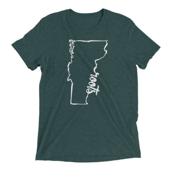 Vermont Roots T-Shirt - Unisex - 22 Colors Available 1hCr9P