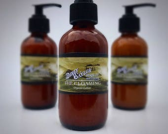 The Gloaming Body Lotion-Organic Body Lotion, Organic Moisturizer, Organic Hand Cream, Gift for Him, Gift for Her, Organic Skin Care