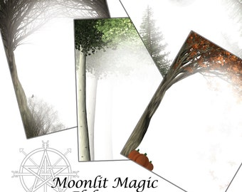 Tree Book of Shadows Pages Pagan Wicca