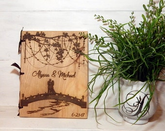 Guest Book, Wedding Guest Book, Rustic Weddings, Handcrafted Guest Book, Words of Wisdom, Shower Guest Book