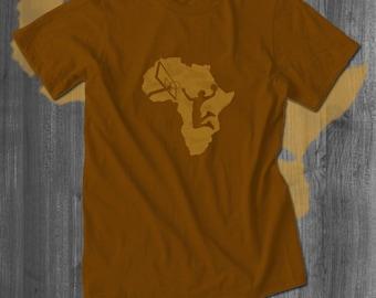 Africa Baller T-Shirt Basketball Tshirt Mens Africa T shirt Africa Men Clothing athletic tee Dunking tshirt  Free Shipping