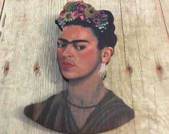 Wooden frida pin