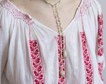 1920s Hand Crocheted Lariat