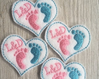 Labor and Delivery Felties - Set of Four