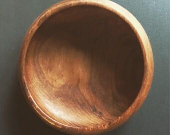 "Vintage Teak Bowl 6"""