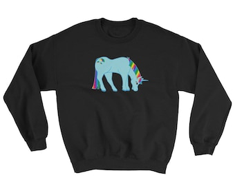 Blue Unicorn Sweatshirt