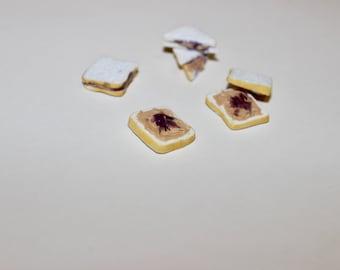 Miniature PB&J Sandwich