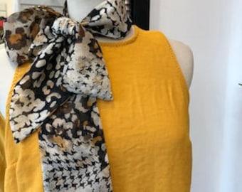 Bow, Neck Tie fashion detail