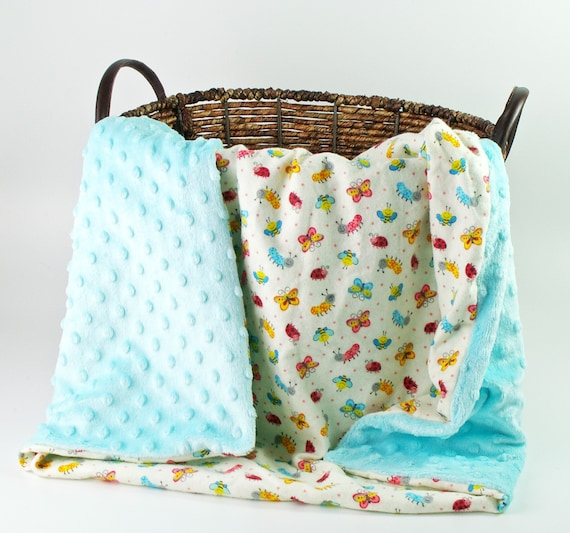 Girl Baby Blankets - Personalized baby blanket