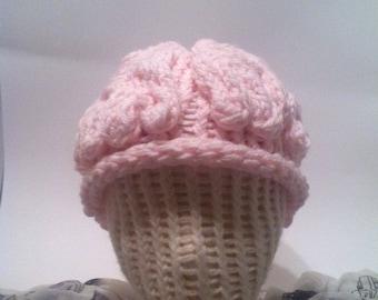 Knit Brain Hat