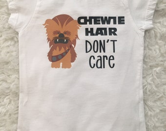 Chewie Hair Don't Care // Chewbacca