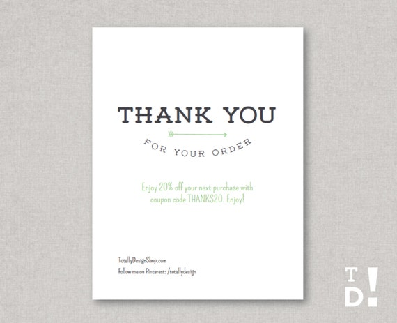 thank you for your order card koni polycode co