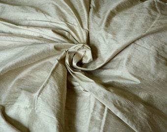 Silk Dupioni in Bright tea green  - Extra wide 54 inches Half Yard, DEX 305