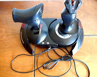 Thrustmaster T-Flight Hotas X Joystick V.2 for PC or PS3 12 button USB