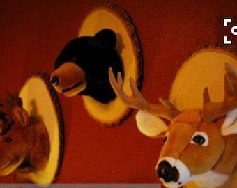 Stuffed Animal Wall Mount