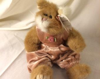 1992 Ty stuffed kitty Pouncer.