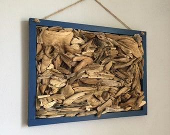 Handmade Driftwood Wall Art Fish Beach Decor Driftwood Decor