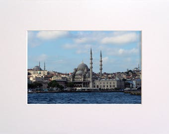 Istanbul, Photo in 30x23 cm Mat Board, Wall Art, Home Decor, Limited Edition Photography