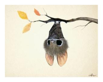 Little Bat signed 8x10 print