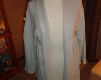 Vintage 90s Grey Sweater Shrug Jacket