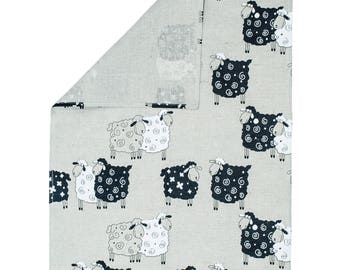 Tea Towel Sheep Design