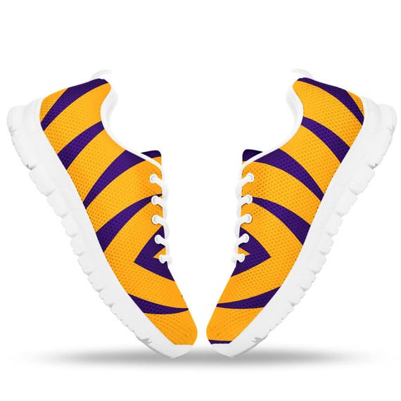 Shoes Purple And For Sneakers Running Gold Tigers Ladies Tigers 1qX4ExW