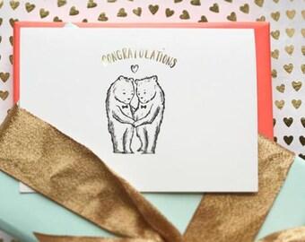 Gay Wedding Card - Gay Congratulations Card