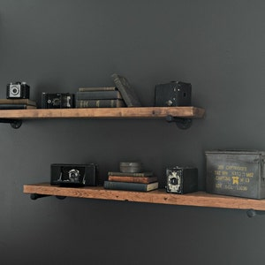 Awesome Extra Long Floating Shelves, 8