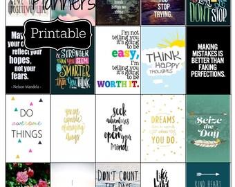 Motivational Happy Planner Sticker Inspire Stickers Quotes EC Planner Stickers Happy Planner Stickers Adulting Inspirational Stickers