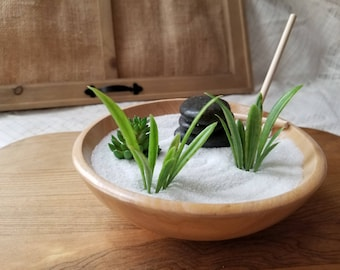 Japanese Rice Bowl Zen Garden