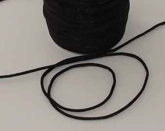 3 m for your jewelry 2mm diameter black nylon thread