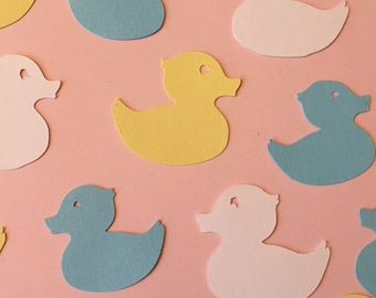 Duck Duckie Confetti, Baby Shower, Birthday Party Decor, Color Options