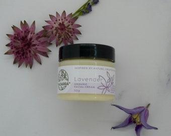 Organic Loving Lavender Face Cream 50ml