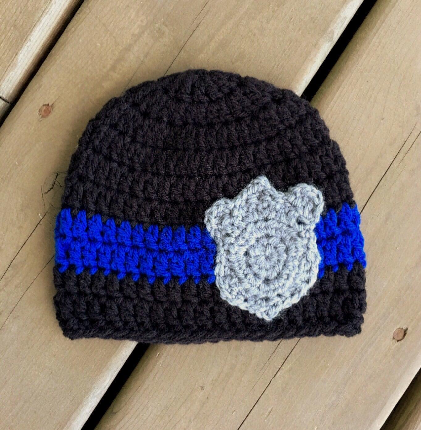 Polizeimütze Polizei Hut mit Shield Fotografie Prop