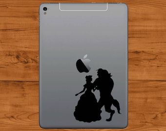 Beauty and The Beast - Tablet Vinyl Sticker