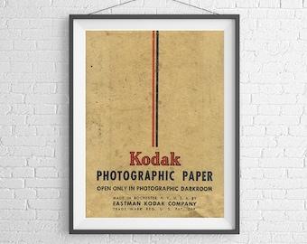 Rolleicord tlr camera poster art print blueprint kodak photographic paper vintage film box 35mm film ilford agfa art print malvernweather Image collections
