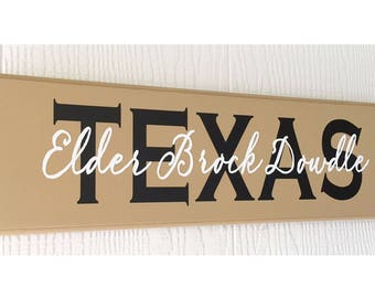 Missionary Sign, LDS Missionary, Mission Sign, Missionary, Custom Missionary Wood Sign, LDS Decor, Mormon Decor, LDS Home, Mormon Art