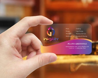 Business Cards (Design004 Template)